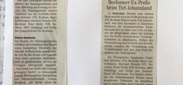 VfL Bochum-Schule war zu Gast